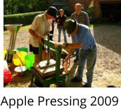 Apple Pressing 2009